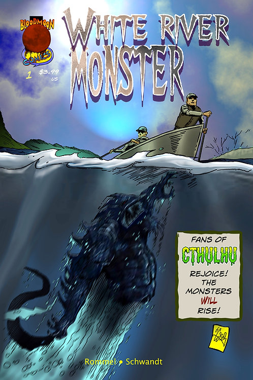 White River Monster issue 1 cover A