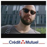 Jeremy ELH, publicité Crédit mutel