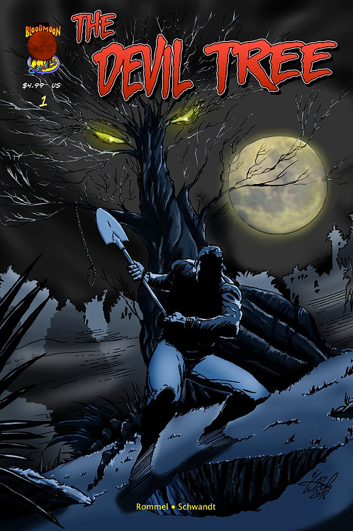 The Devil Tree issue 1 - Cover A by Wolfgang Schwandt