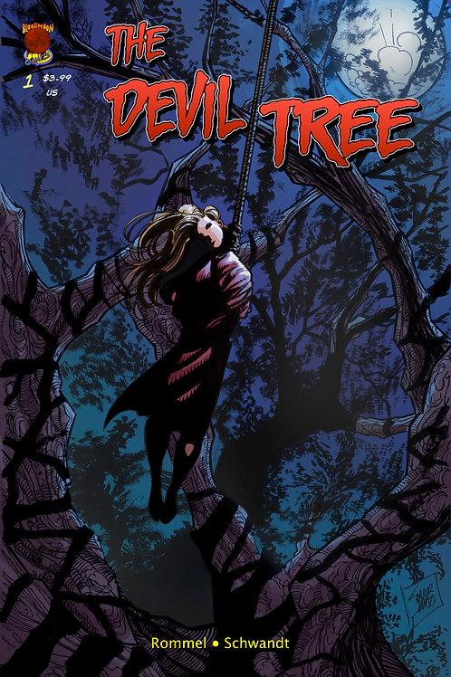 The Devil Tree issue 1 - Cover B by Samir Simão