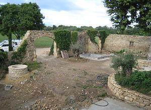 Jardin pierres sèches