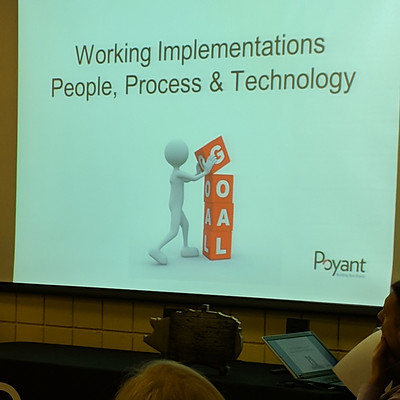 Transforming your organization: Hosted by Poyant Signs