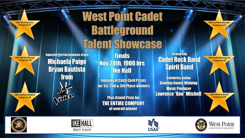Cadet Battleground Talent Showcase Nov 2