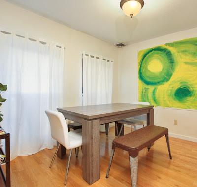 Upper Livingroom/Kitchen