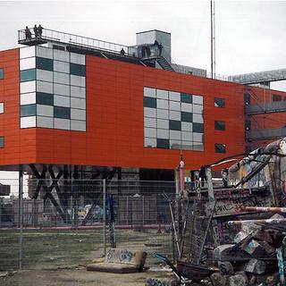 Berlin. Potsdamer Platz, Info-Box 1999