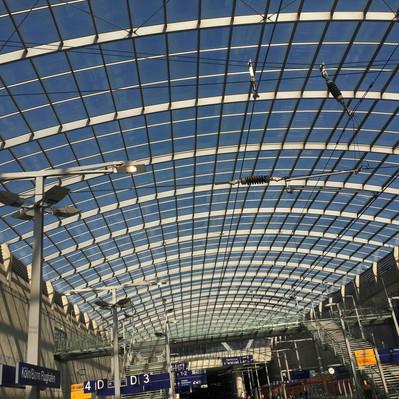 Beispiel für Dachkonstruktion