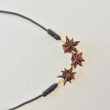 Tri-Anise star pendant