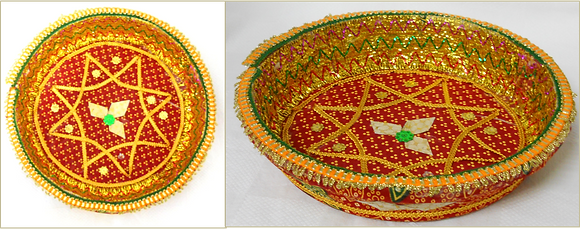 Puja plate