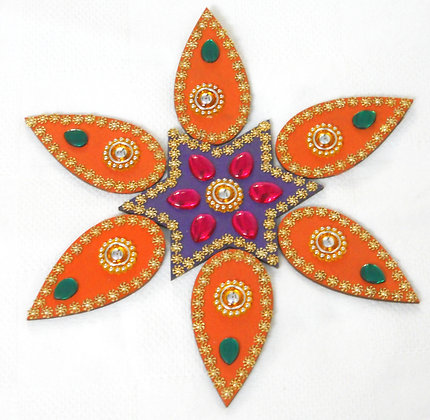 Rangoli - hand made decorative