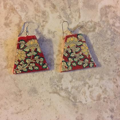 Kalamkari Earrings