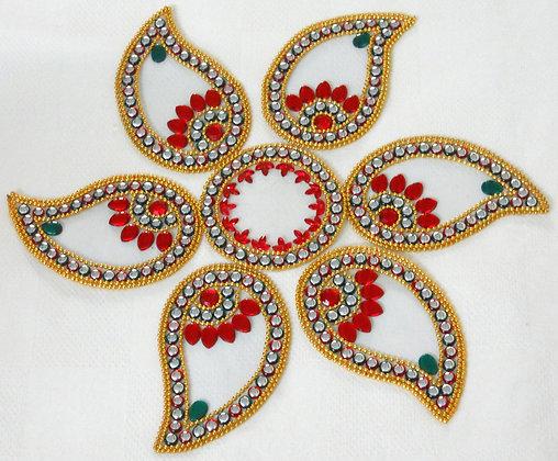 Traditional rangoli - Large