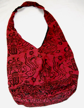 Batik shoulder bags