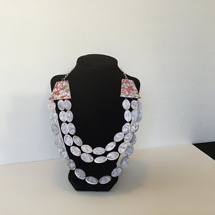 Kalamkari 3 string necklace set