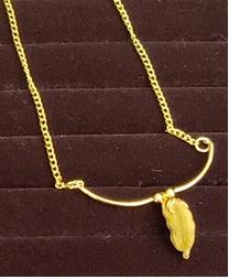 Cardamom Single necklace