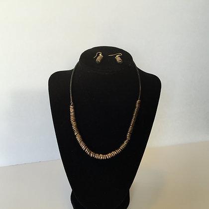 Clay spring necklace set