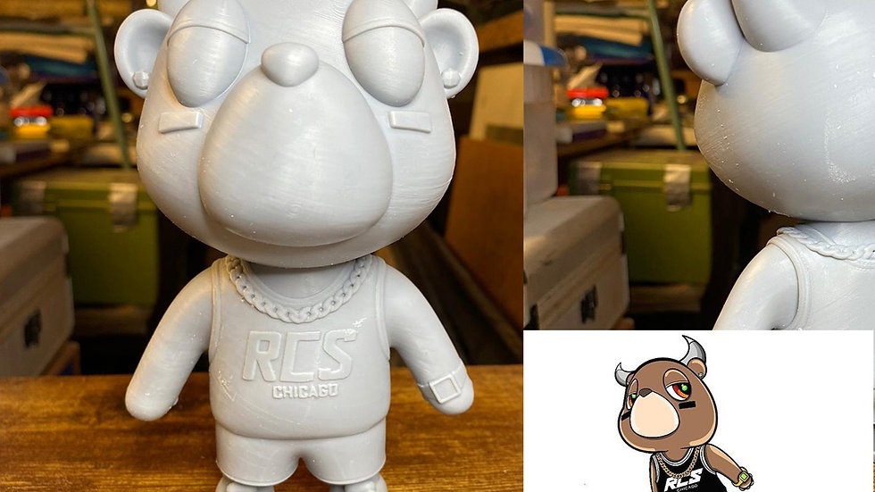 2D to 3D Print+Files  (6 to 7 Inches)
