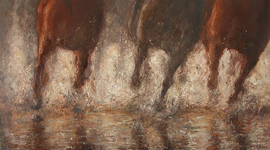 168 Reflections,2008,Oil on Canvas,36x60