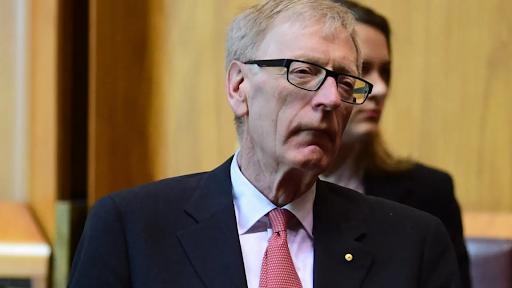 Judge Kenneth Hayne. Photo from The Sydney Morning Herald