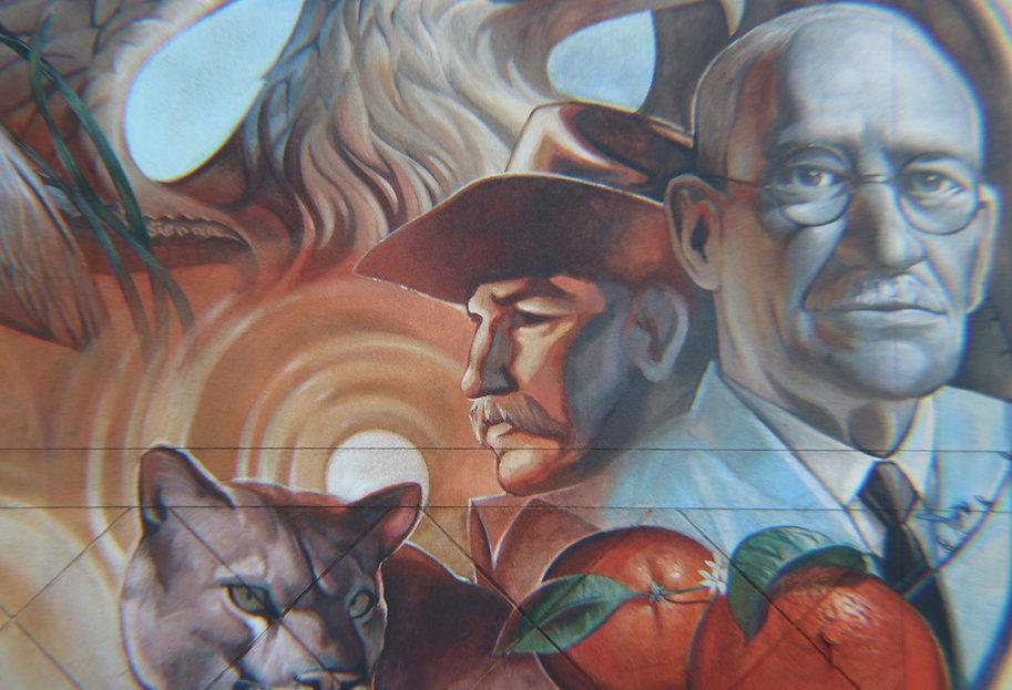 Lake Placid Mural