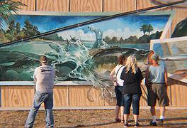 Bass Mural