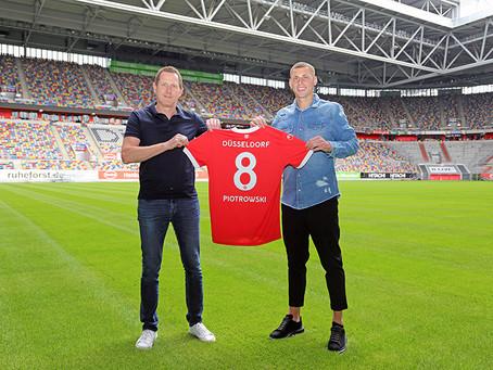 Fortuna Düsseldorf verpflichtet Jakub Piotrowski