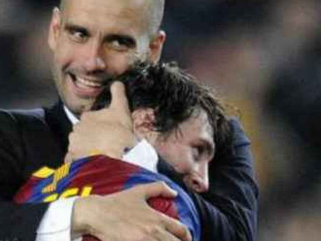 Barcelona: Messi rief bei Pep Guardiola an