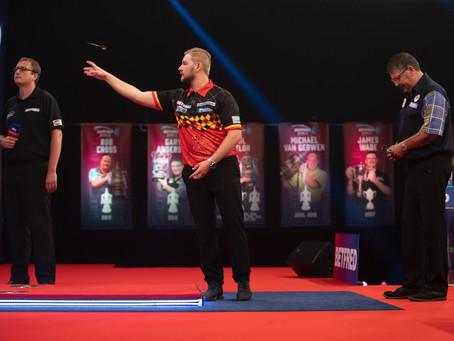 Dimitri van den Bergh gewinnt den ersten Major Titel seiner Karriere
