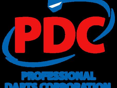 PDC plant mit Zuschauern!