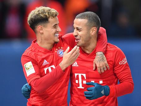 FC Bayern: Thiago und Coutinho vor Abgang