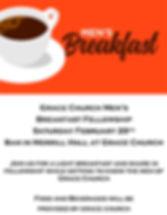 Grace Church Mens Breakfast 2020 700 x 9