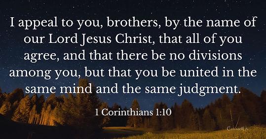 CHristian Uniity 1-corinthians-1-10.jpg