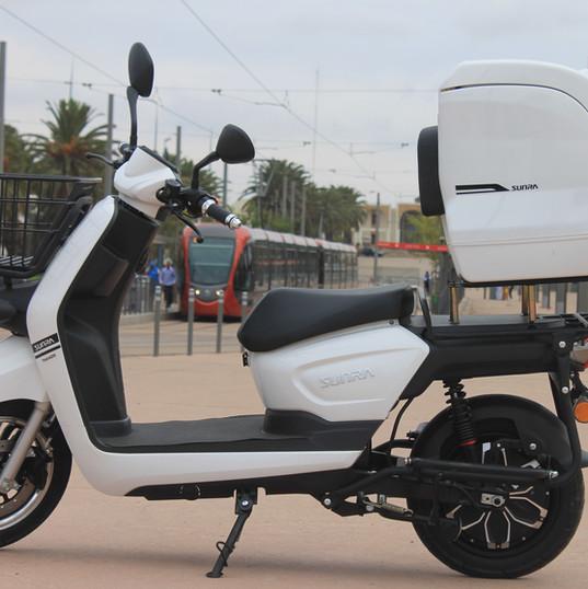 E-Delivery scooter électrique Maroc