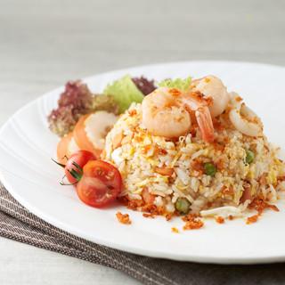 XO Seafood Anchovies Fried Rice