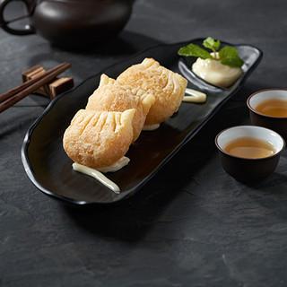 Deep Fried Prawn Dumpling served with Mayonnaise Dressing