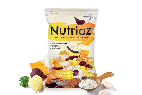 NUTRIOZ - Butter & Garlic (12PCS.)