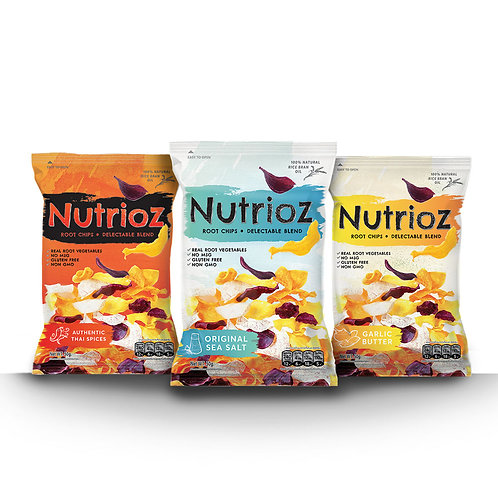 NUTRIOZ - Mix Flavors (12 PCS.)