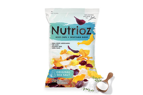 NUTRIOZ - Original Sea Salt (12PCS.)