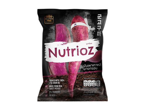 NUTRIOZ  Smoke Roasted Sweet Potato Chips