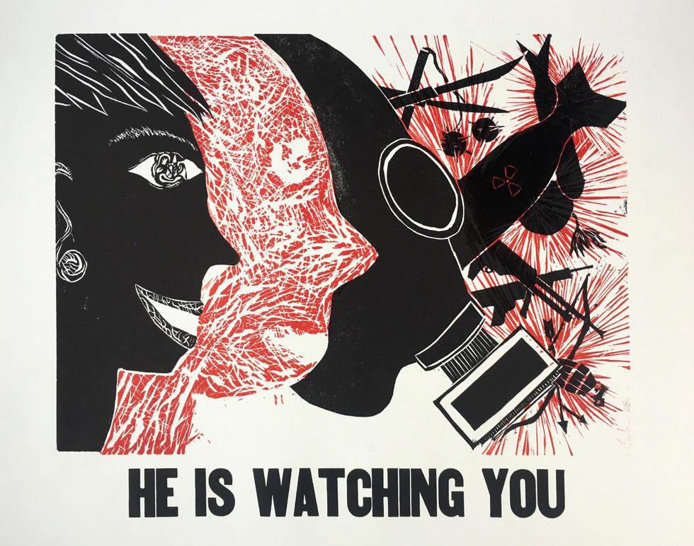 'He Is Watching You'