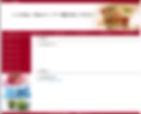 HTML ホームページテンプレート