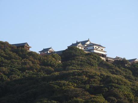 第一回愛媛チャリティ100km歩くぞなもし 松山城