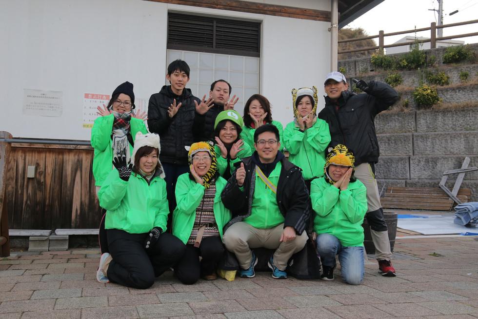 第一回愛媛チャリティ100km歩くぞなもし サポートチーム