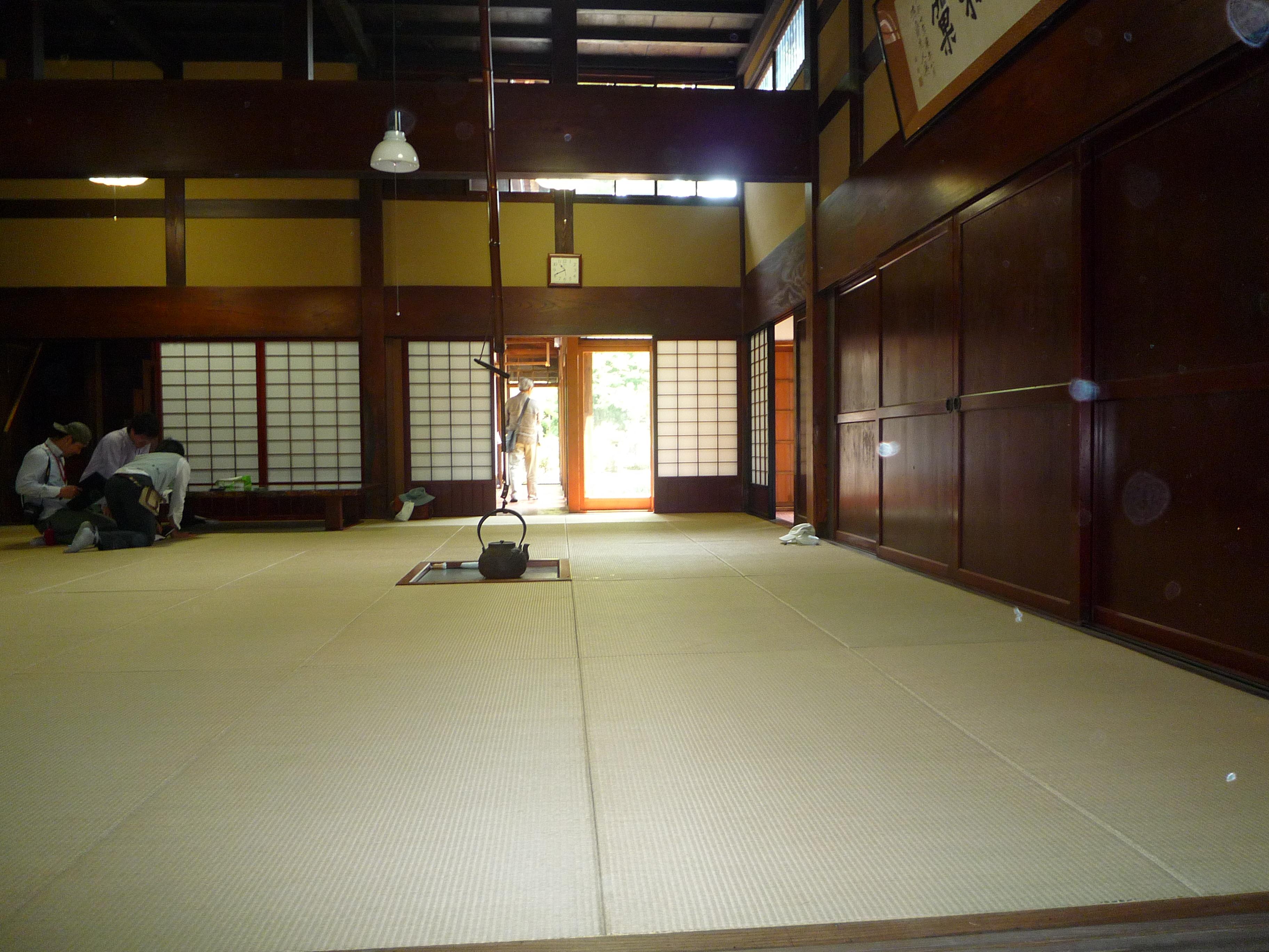 床の間 Tokonomaan Alcove