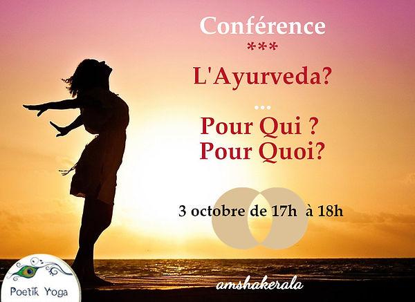 Conférence Ayurvéda avec Poetik Yoga Lille