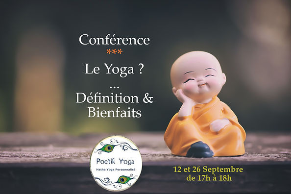 Conférence Poetik Yoga Lille