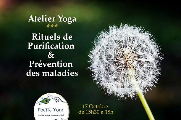Atelier Yoga  purification Poetik Yoga Lille