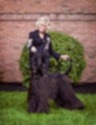 Rosemar Sutton & Afghan Hound