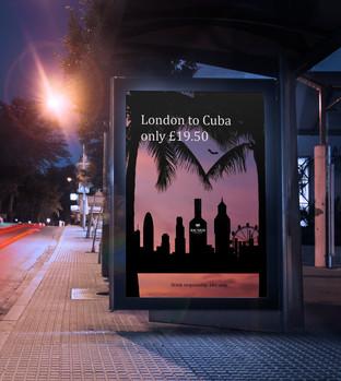 London to Cuba