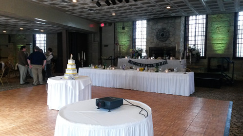 Feature A Picture Slideshow Or Movie Montage At Your Reception Projector