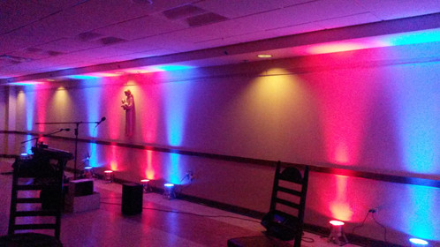 lighting technician. Uplighting Is An Easy And Affordable Way To Transform The Look Of Your Venue. It Will Add Color Perfect Ambiance For Event. WHAT IS UPLIGHTING? Lighting Technician